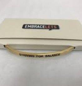 Striving For Balance Embracelet Gold