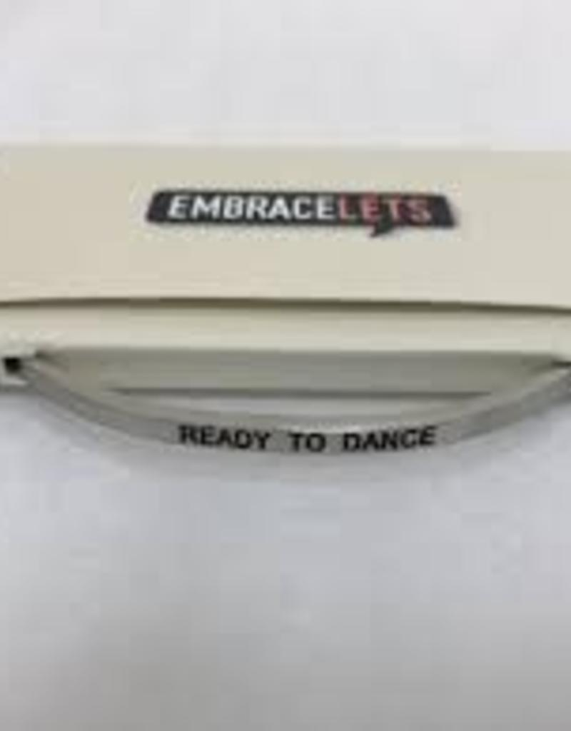 Ready to Dance Embracelet Silver