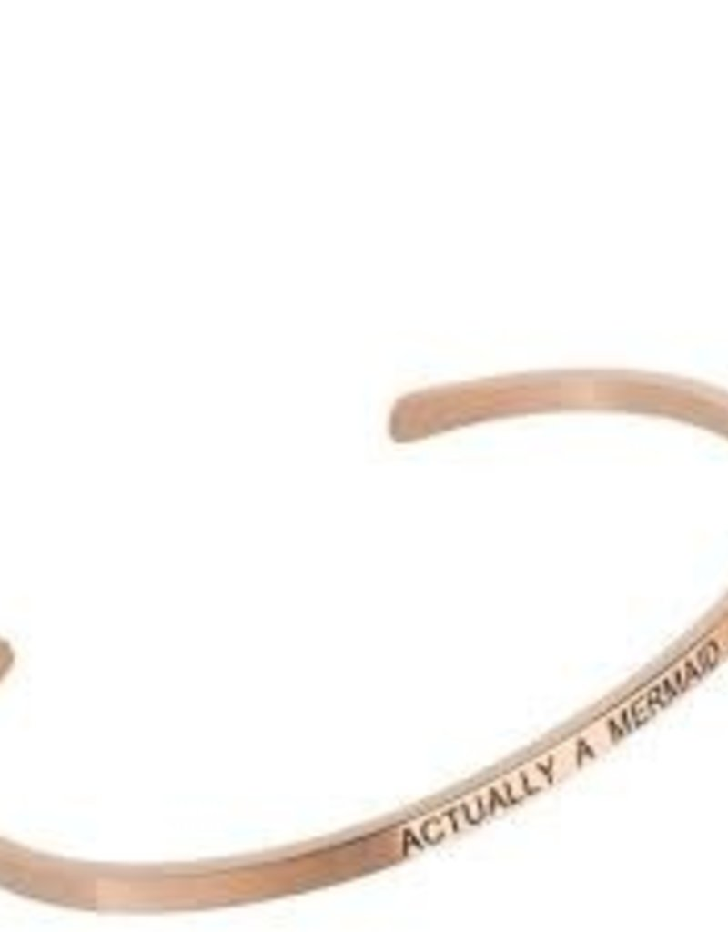 Actually A Mermaid Rose Gold Embracelet