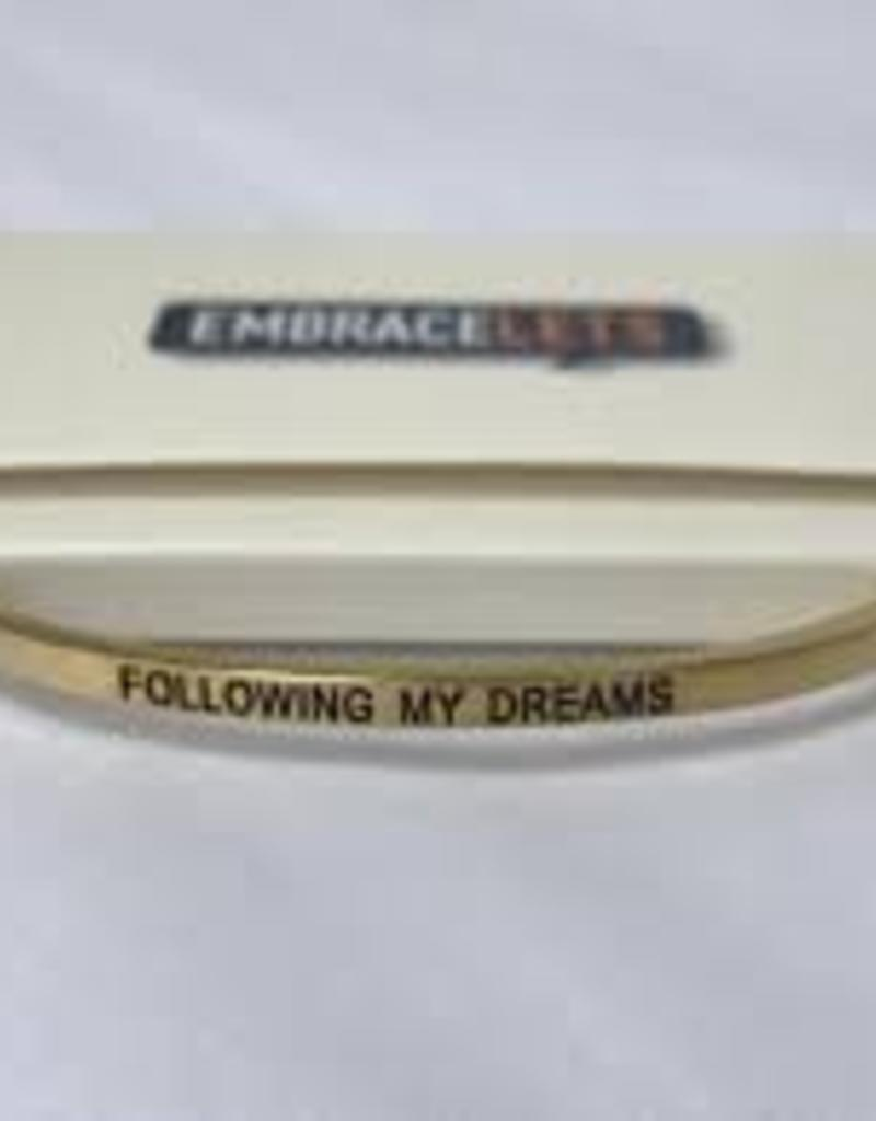 Following My Dreams Embracelet Gold