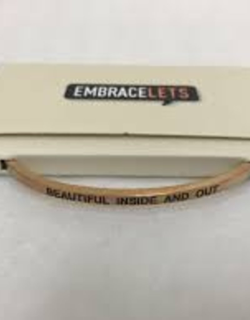 Beautiful Inside and Out Embracelet Rose Gold