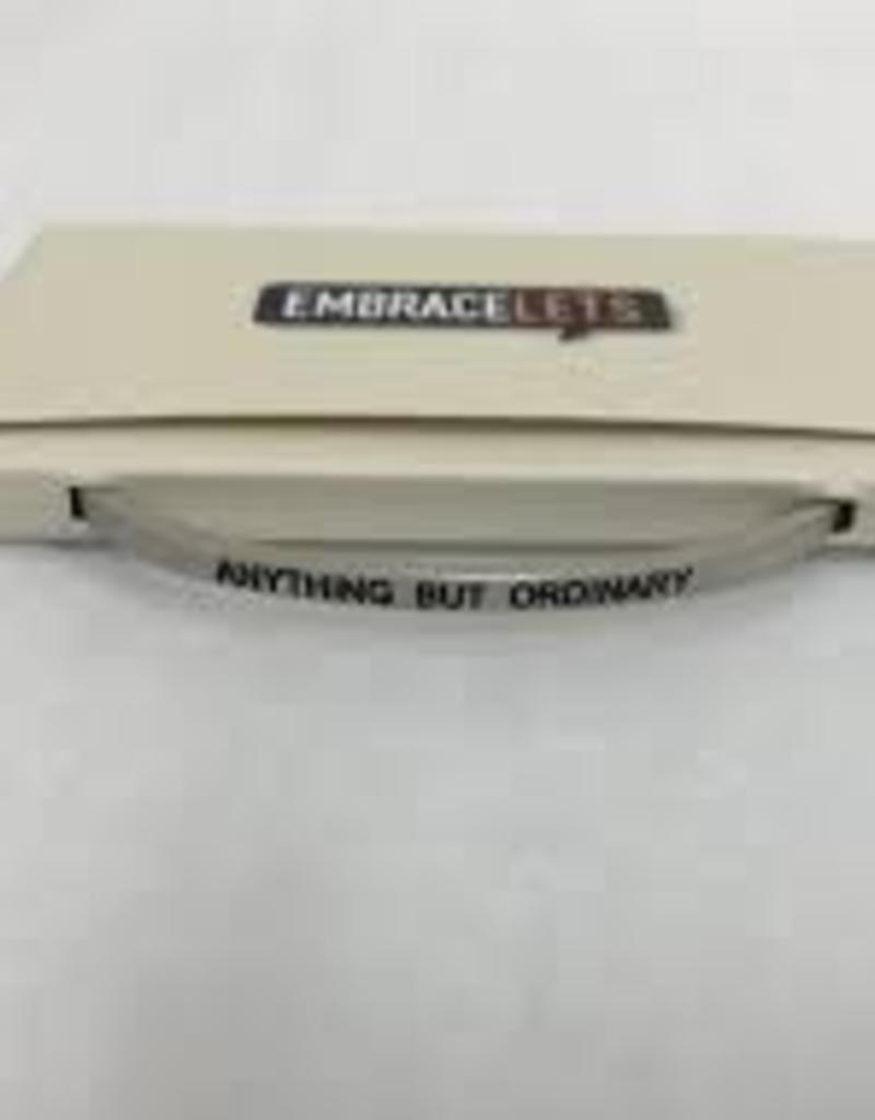 Anything But Ordinary Embracelet Silver