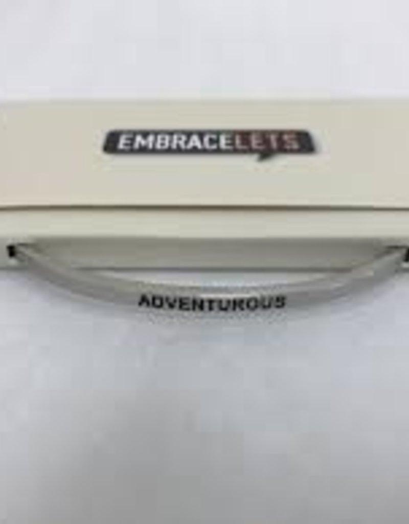 Adventerous Silver Embracelet