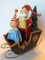 Lori Mitchell Santa's Sleigh Ride