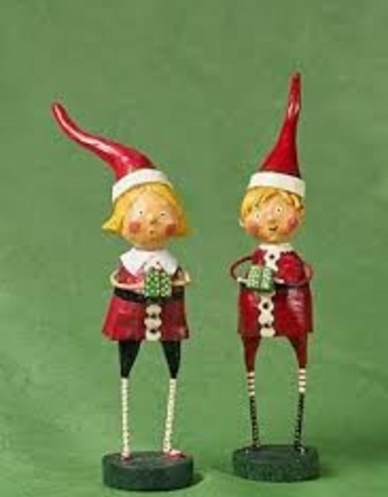 Lori Mitchell Santa's Little Helper, set of 2