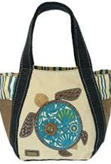 Carryall Zip Tote Turtle-sand