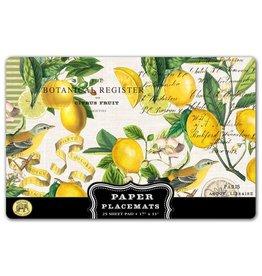 Paper Placemats Lemon Basil