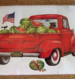 Watermelon Truck Bagged Towel