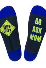 Off Duty - Go Ask Mom Socks