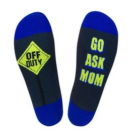 Off Duty - Go Ask Mom Socks