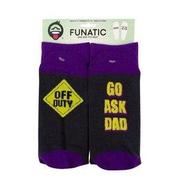Off Duty - Go Ask Dad Socks