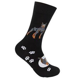 Doberman Pinscher Sock