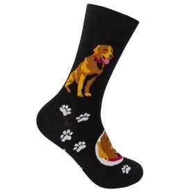 Chocolate Lab Socks
