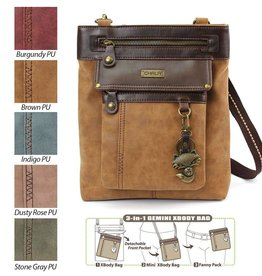 Gemini Xbody Bag-Fox-Brown