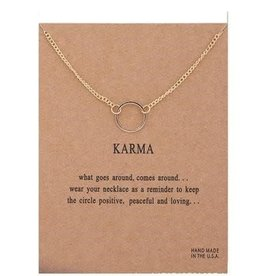 Karma Necklace - Gold