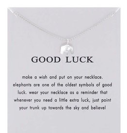 Good Luck Necklace - Silver