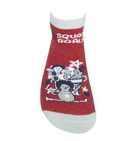 Squad Goals Ankle Socks