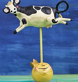 Lori Mitchell Cow Jumped Over the Moon