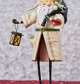 Lori Mitchell Old Father Christmas, Ivory