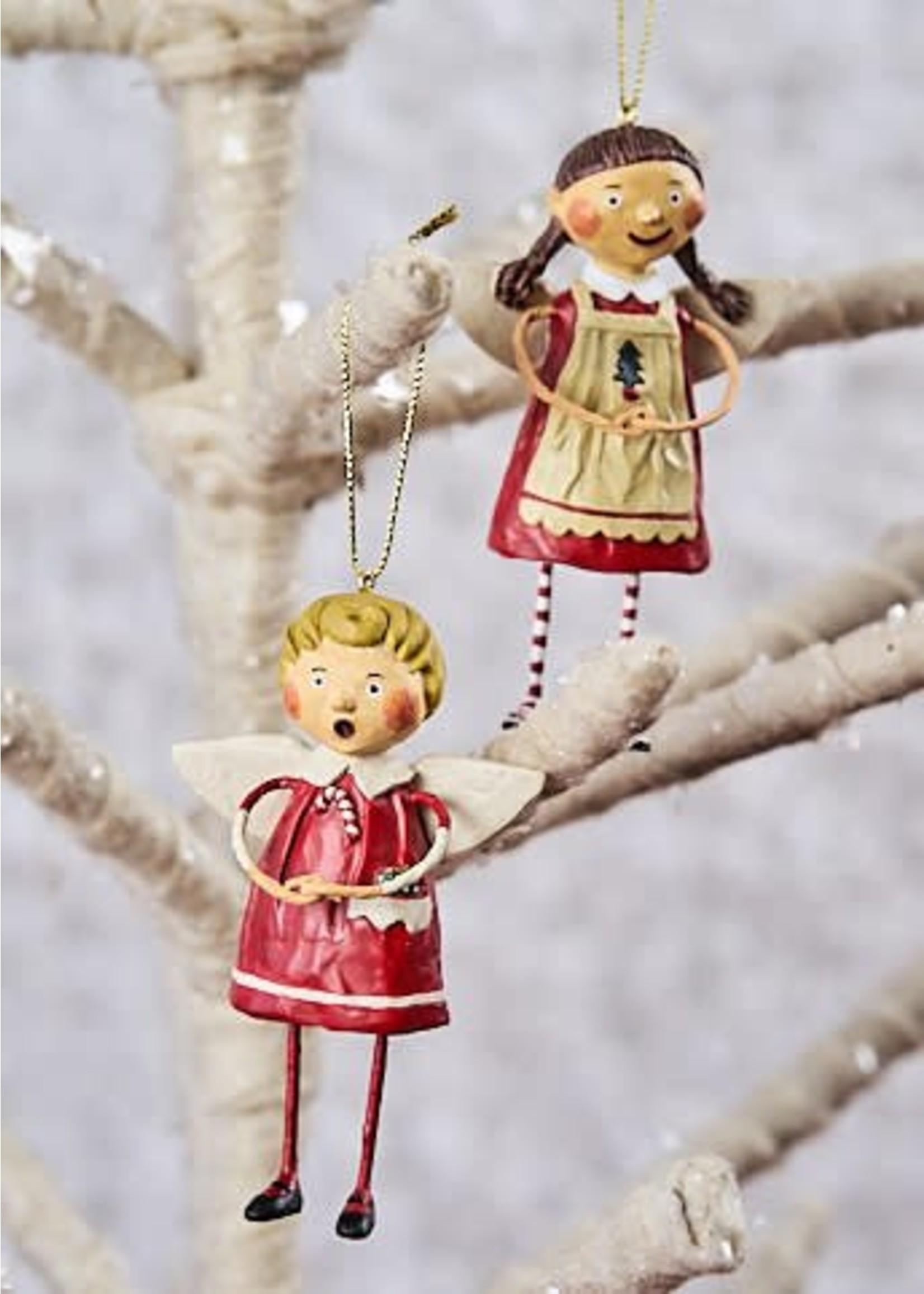 Lori Mitchell Tree Trimming Ornaments, Set of 2