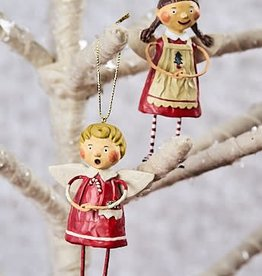 Tree Trimming Ornaments, Set of 2