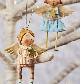 Lori Mitchell Babes in Toyland Ornaments, Set of 2