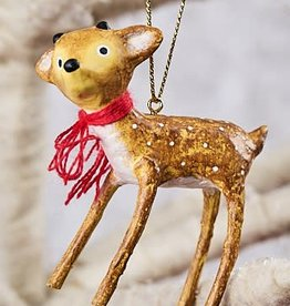 Baby Reindeer Ornaments, Set of 2