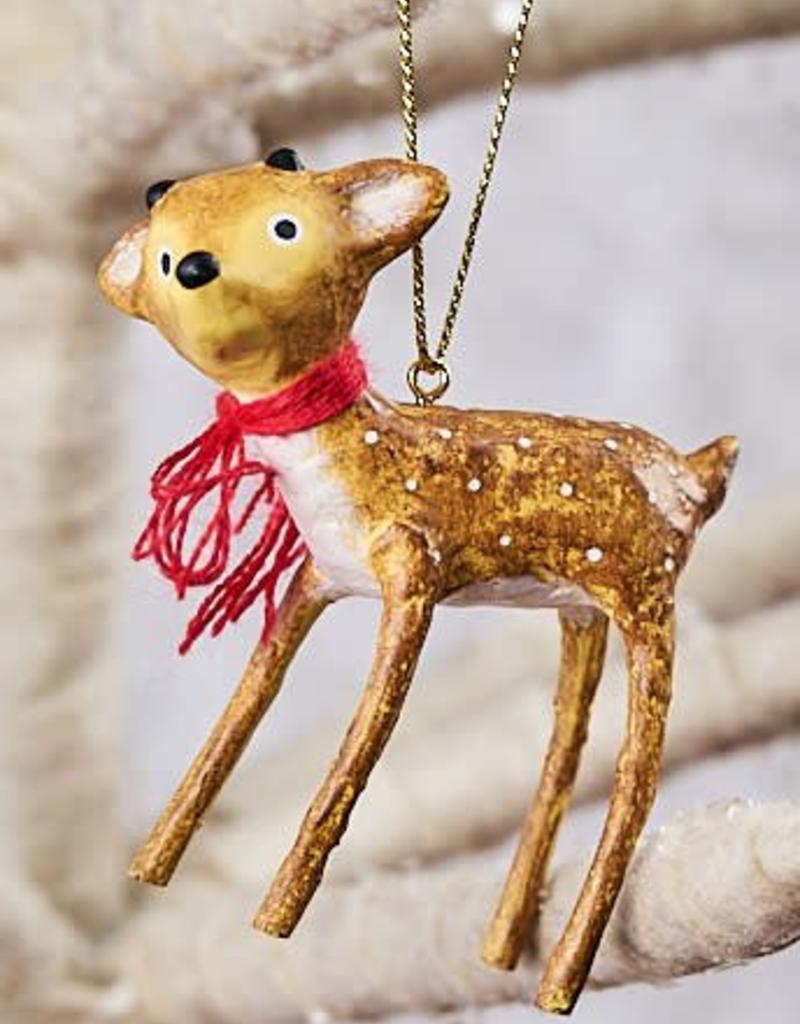 Baby Reindeer Ornaments, Set of 2
