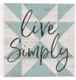 Live Simply 5.5x5.5 OBR