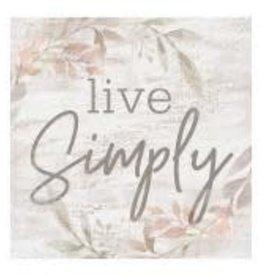 Live Simply Block 3.5x3.5 ORB