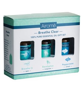 Breathe Clear Essential Oil Gift Set