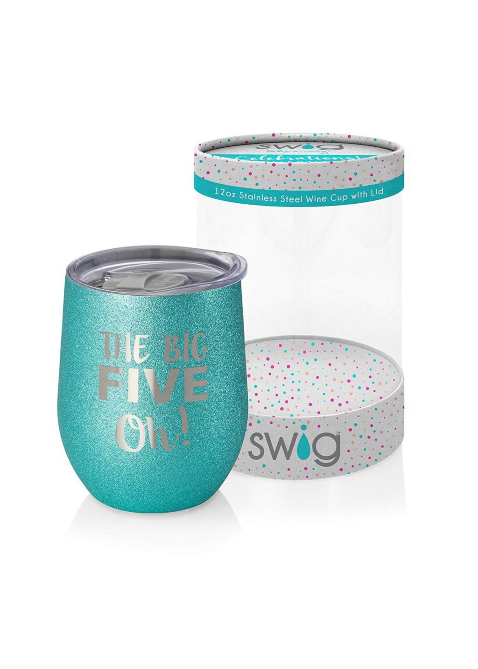 Swig 12 oz Wine the Big Five OH!