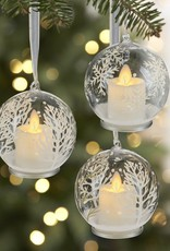 "4"" Winter Tree LED Ornament"