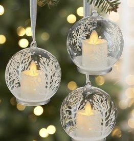 "4"" Winter Tree LED Ornament"
