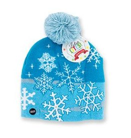 Snowflake Light Up Hat