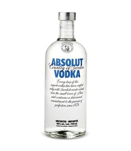 ABSOLUT VODKA ABSOLUT VODKA