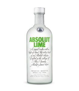 ABSOLUT VODKA ABSOLUT LIME VODKA