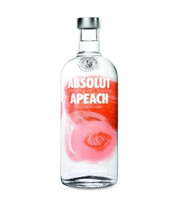 ABSOLUT VODKA ABSOLUT PEACH VODKA