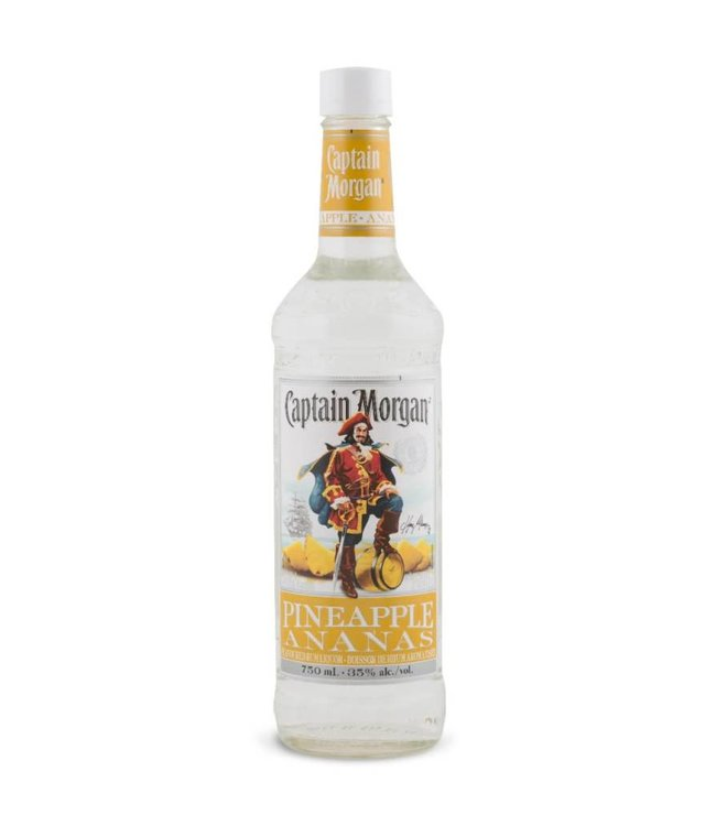 CAPTAIN MORGAN CAPTAIN MORGAN PINEAPPLE FLAVOURED RUM