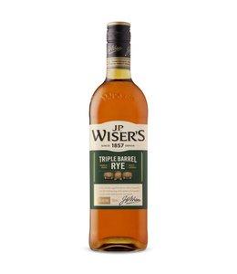 J. P. WISER'S J.P. WISER'S TRIPLE BARREL RYE CANADIAN