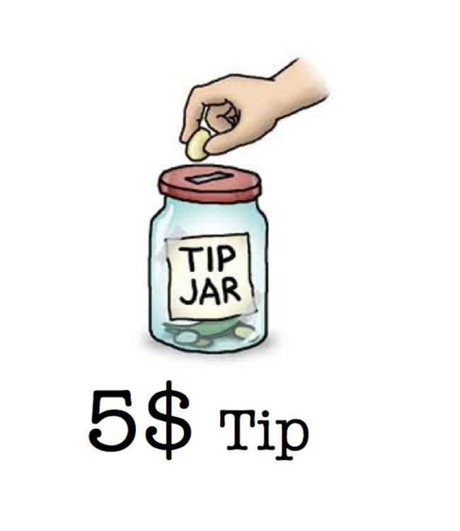 Tip - Matrix Tip 5 Dollars