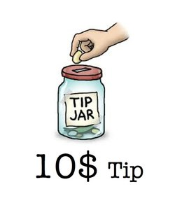 Tip - Matrix Tip 10 Dollars