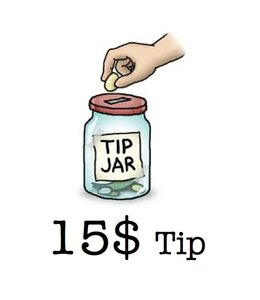 Tip - Matrix Tip 15 Dollars