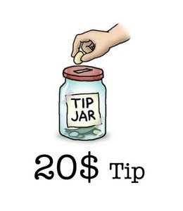 Tip - Matrix Tip 20 Dollars