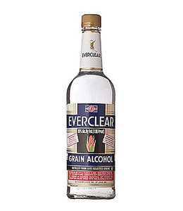 EVERCLEAR 190 EVERCLEAR 190 PROOF GRAIN ALCOHOL