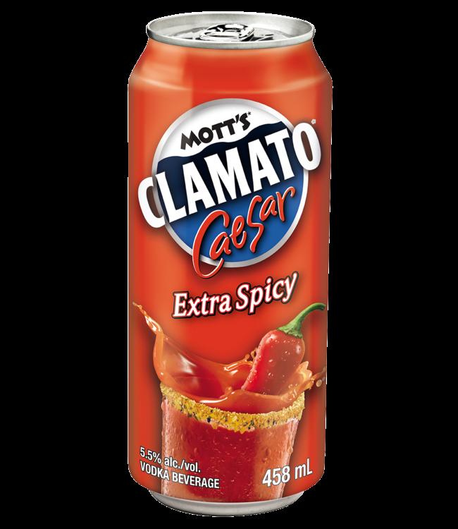 MOTT'S CLAMATO MOTT'S CLAMATO CAESAR EXTRA SPICY