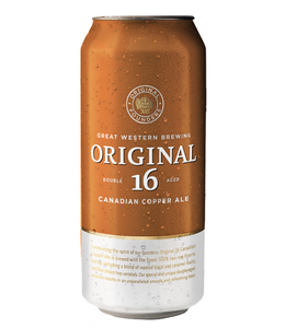 ORIGINAL 16 CANADIAN ORIGINAL 16 CANADIAN COPPER ALE