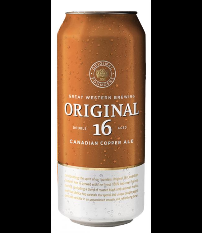 ORIGINAL 16 CANADIAN ORIGINAL 16 CANADIAN COPPER ALE