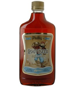 PHILLIPS PHILLIPS ROOT BEER SCHNAPPS