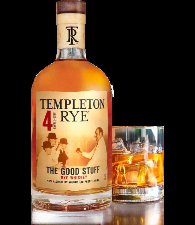 TEMPLETON RYE WHISKEY TEMPLETON RYE WHISKEY